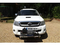 2010 Toyota HILUX 3.0 D4-D DOUBLE CAB PICK UP 4X4 171 BHP 66K MOUNTAIN RESCUE
