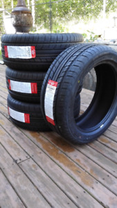 Four new 215/50/17 all season tires, $380 a set, tax in
