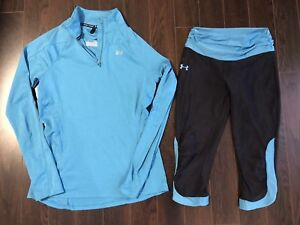 New Women's Under Armour running outfit - size small.