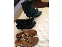 Sandals, shoes and boots