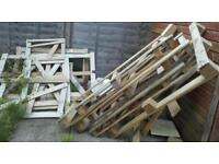 Free pallets wood for collection