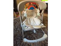 Fisher price baby swing with a choice of music and vibrations