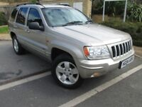 Jeep Grand Cherokee 2.7 CRD Limited Station Wagon 4x4 5dr/DRIVES EXCELLENT