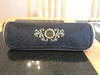 Gold GHD straighteners BAG and matching mirror