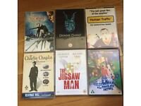 6 DVDs for £5 or £1 each
