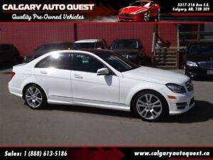 2013 Mercedes-Benz C-Class C350 4MATIC AWD/NAVI/B.CAM/LEATHER/RO