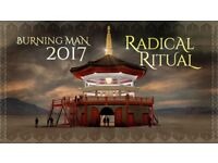 Burning man 2017 ticket