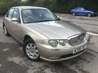 CROWN JEWELS CAR, ROVER 75 1-8 PETROL GENIUNE 43K FROM NEW, IMMACULATE THROUGHOUT, HISTORY £795 P/EX