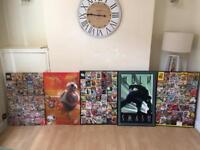 Marvel, Star Wars and hulk canvasses set for sale