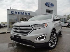 2015 Ford Edge Titanium H/C seats H/steering AWD V6