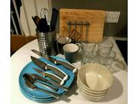 Tableware for 2-4 persons