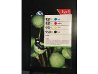 Brand New HP 951XL Print Cartridges