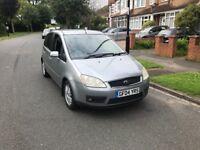 Ford c-max Ghia model 2.0 diesel 6 spd manual 1 years mot -px audi galaxy sharan touran seat honda