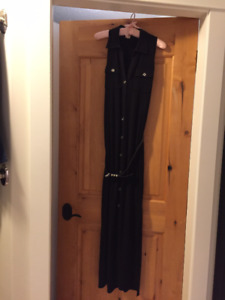 Ladies long black dress