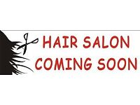 Part-time stylist and full-time trainee for new salon Upper Lisburn Road