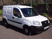 EXCELLENT VAN!!! 2007 FIAT DOBLO 1.3 JTD MULTIJET 16v PANEL VAN 4dr, 1 YEAR MOT, WARRANTY