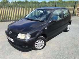 2002 51 VOLKSWAGEN POLO 1.4 MATCH 3 DOOR HATCHBACK - OCTOBER 2017 M.O.T - IDEAL CHEAP RUNAROUND!