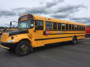 2013 IC 71 Passenger School Bus