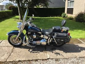 Harley Davidson Heritage Softail Classic: 2001 Low miles; lovely condition; lots of chrome