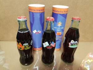 OLD Coca Cola Collector Bottles