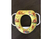 Potty Training padded seat with handles Winnie the Pooh design used only thrice