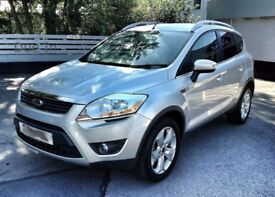 Due In: 4x4 Ford Kuga Zetec 2.0TDCi, One Owner, 56,000 Miles, New MOT & Service