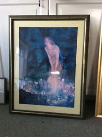 Framed primt