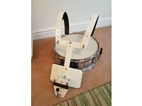 Millenium marching snare and harness