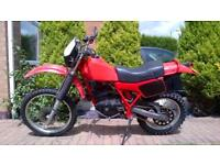 Honda XR250RC. 1982. Road Legal. V5 & Long MOT