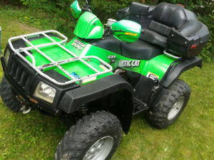 VTT Artic Cat TRV 500 2004 5700km (+ haut que polaris sportsman)
