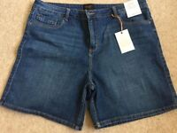 Denim Shorts Brand New With Tags Size 18 Dropped to £5 ( Cost £14)