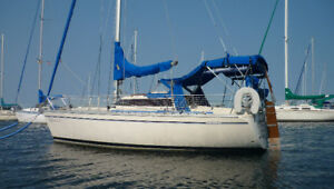 Possibly the best equipped 27 ft sailboat on Lake Champlain