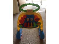 Fisher price take along musical swing seat and walker