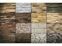 Decorative brick/stone slips
