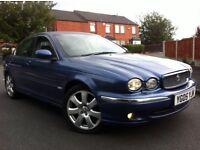 2005 jaguar x type 2.0 diesel satnav full grey leathers full service history