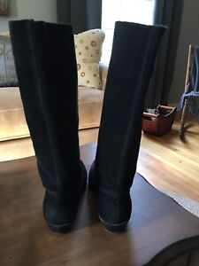 Leather (Suede) NIne West Boots