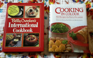 Various Cookbooks: available as a lot, or individually