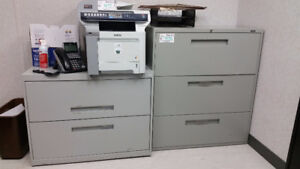 Selling a 2 Drawer and 3 Drawer Filing Cabinet