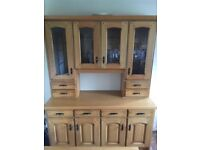 Solid Oak Kitchen Dresser