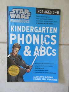 Star Wars Phonics Workbook - New