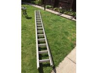 Professional aluminum ladder two sections