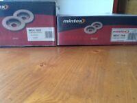 Mintex brake pads and discs for VW Passat.