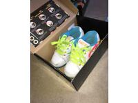 Size 12 white heely shoes