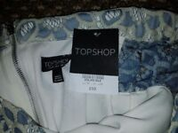 Brand new with tag topshop dress off shoulder. Flowers