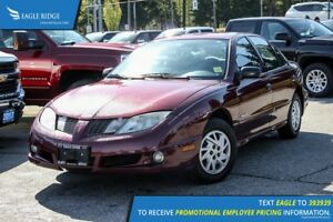 2004 Pontiac Sunfire SL AM/FM Radio and Air Conditioning