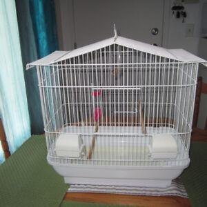Cage d'oiseau pour Perruche, canari , pinson , Petit Prix 20$