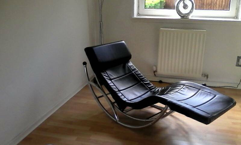 Real leather chaise bran new condition