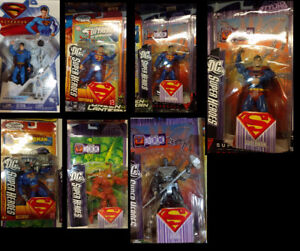 Superman Action figures for your Camping/hunting/fishing gear