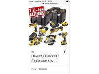 DEWALT DCK665P3T BRAND NEW TOOLS