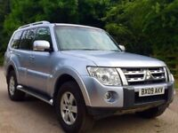 Mitsubishi shogun 3.2 5Dr leather satnav Rev camera 1 owner 7 seat